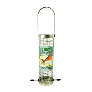 Supa Stainless Steel Peanut Nut Feeder 8 Inch | SU7407