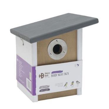 Henry Bell Elegance Slooping Roof Bird Nest Box   HYB050009