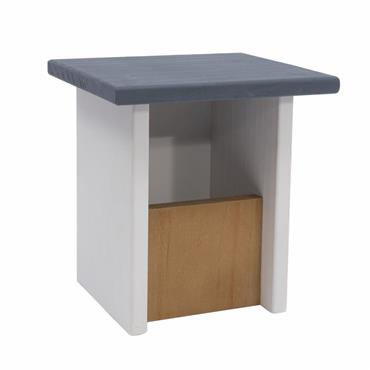 Henry Bell Elegance Flat Roof Open Front Bird Nest Box   HYB050012