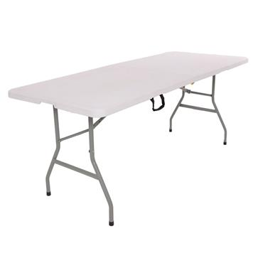 WHITE FOLDING TABLE 180CM / 6FT