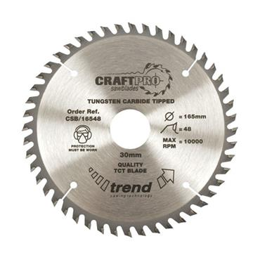 Trend Craft Pro Saw Blade 230 x 30mm x 40T | CSB/23040