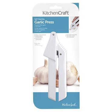 Kitchencraft Plastic Garlic Press   KCGARLIC