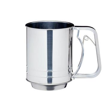 Kitchencraft Stainless Steel Trigger Action Flour Sifter   KCSIFTER