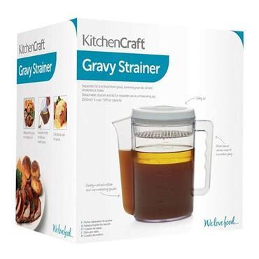 Kitchencraft 1.5 Litre Gravy / Fat Separator and Measuring Jug | KCGRAVYSEP
