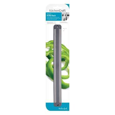 Kitchencraft 33cm Magnetic Knife Rack | KCRACKMAG