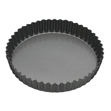 "MC 8"" FLUTED QUICHE FLAN TIN  LOOSE BASE"