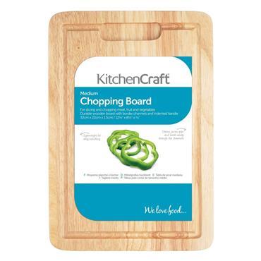 KitchenCraft Large Chopping Board 38cm x 28cm x 1.5cm | KCRWCHOPLRG