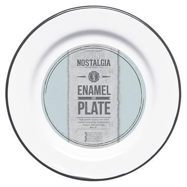 Living Nostalgia Enamel 20cm Side Plate | LNENPLATE20