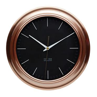 KitchenCraft Copper Effect Clock | KCCLOCKCOP