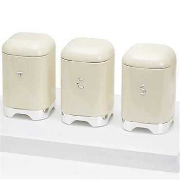 Lovello Sugar Tin Canister - Cream | LOVSUGARCRE