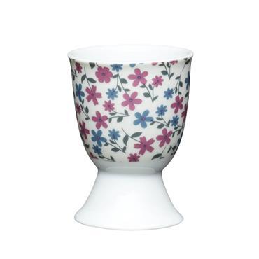 KitchenCraft Floral Daisy Porcelain Egg Cup | KCEGGFDAISY