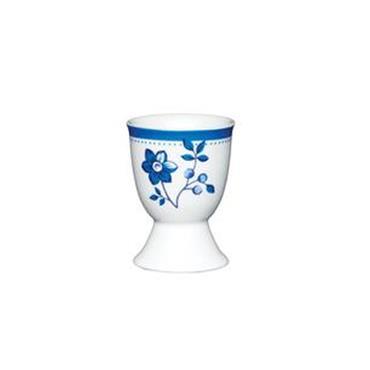 KitchenCraft Porcelain Spotty Flower Egg Cup | KCEGGBFLWR