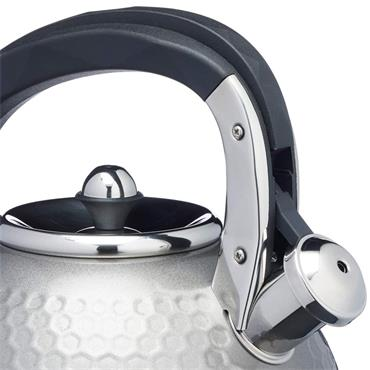 Lovello Textured Stove Top Kettle - Shadow Grey | LOVKETGRY
