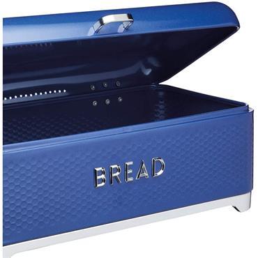 Lovello Textured Bread Bin - Midnight Blue | LOVBBBLU