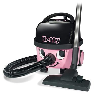 Hetty Cylinder Vacuum Cleaner Bagged - Pink | HET160