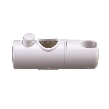 EUROSHOWERS WHITE SLIDER SHOWER BRACKET 25MM | SL20