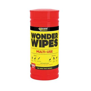 EVERBUILD Antibacterial  WONDER WIPES 100 PACK