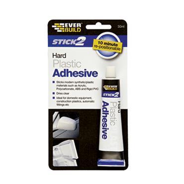 EVERBUILD HARD PLASTIC ADHESIVE 30ML