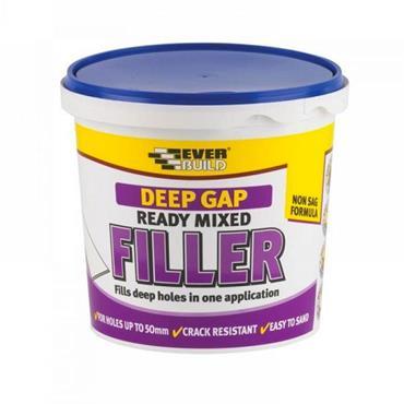 Everbuild Deep Gap Wall Filler 1 litre   EVBRRMDEEP1