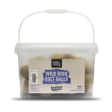 Nature's Market Wild Bird Suet Fat Balls - 50 Pack