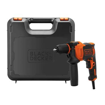 BLACK & DECKER 710W HAMMER DRILL AND KITBOX | BEH710K