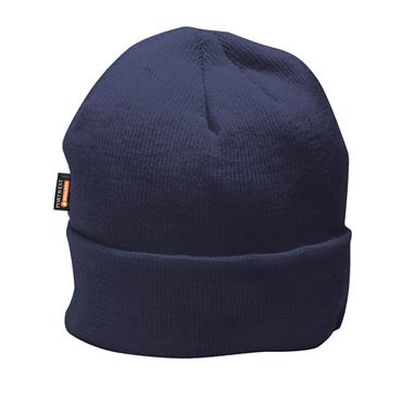 Portwest Knitted Cap Insulatex Lined - Navy | B013NAR