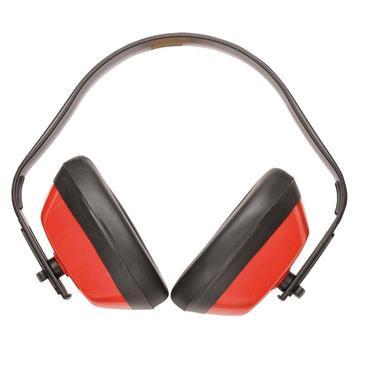 PORTWEST CLASSIC EAR MUFFS RED