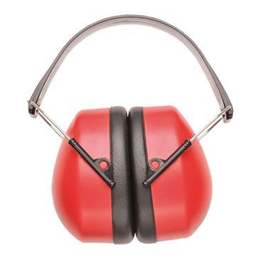 PORTWEST SUPER EAR MUFFS RED