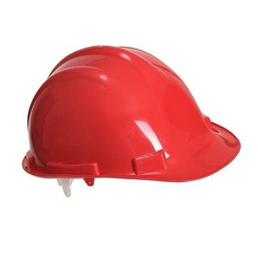 PORTWEST SAFETY HELMET RED HARD HAT