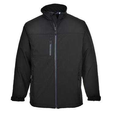 SOFTSHELL JACKET (BLACK)