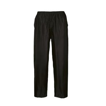 PORTWEST CLASSIC RAIN TROUSERS MEDIUM | S441BKRM