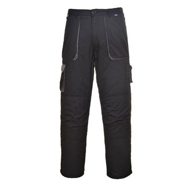 PORTWEST TEXO CONTRAST TROUSERS (BLACK)