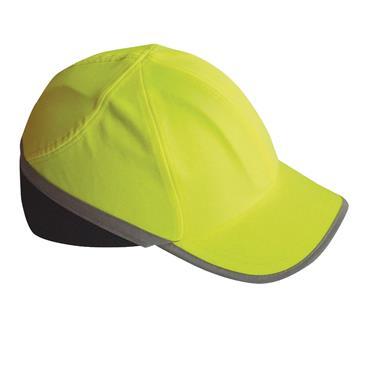 PORTWEST HI-VIS BUMP CAP YELLOW
