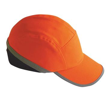 PORTWEST HI-VIS BUMP CAP ORANGE