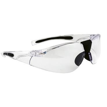 PORTWEST LUCENT SAFETY GLASSES CURVED CLEAR LENS PW39CLR