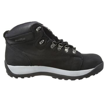PORTWEST MID CUT NUBUCK BOOTS (BLACK)