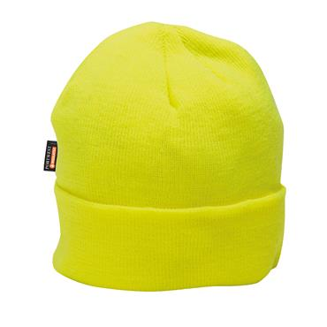 Portwest Knitted Cap Insulatex Lined - Hi-Vis Yellow | B013YER