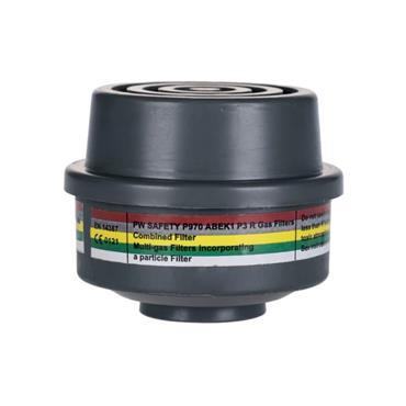 Portwest P970 ABEK1P3R combination filter 4 pack | P970GRR