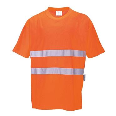 Hi Vis COMFORT COTTON T-SHIRT (ORANGE)