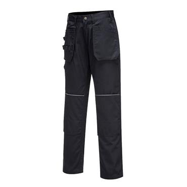 PORTWEST TRADESMAN HOLSTER TROUSERS BLACK