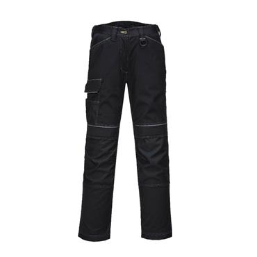 PORTWEST URBAN WORK TROUSERS BLACK SIZE 36 | T601BKR36