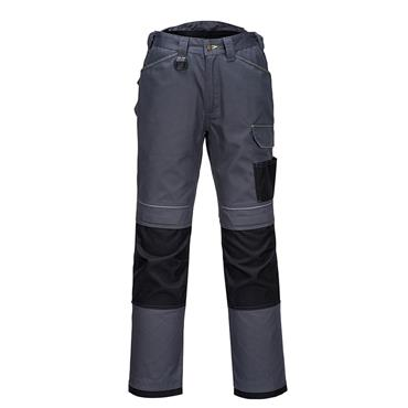 PORTWEST URBAN WORK TROUSERS (GREY / BLACK)