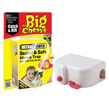 BIG CHEESE SEALED & SAFE MOUSE TRAP