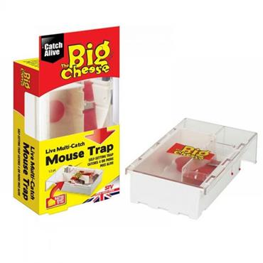 BIG CHEESE MULTI-CATCH MOUSE TRAP