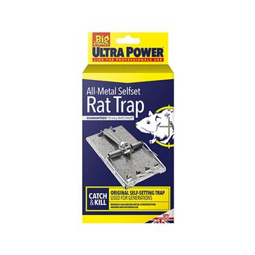 Big Cheese Ultra Power All-Metal Selfset Rat Trap | STV169