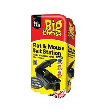 Big Cheese Rat & Mouse Bait Station | STV179