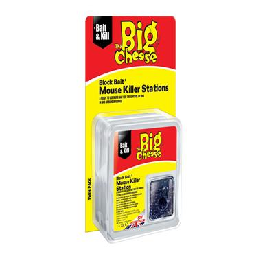 Big Cheese All-Weather Block Bait Mouse Killer Station | STV210