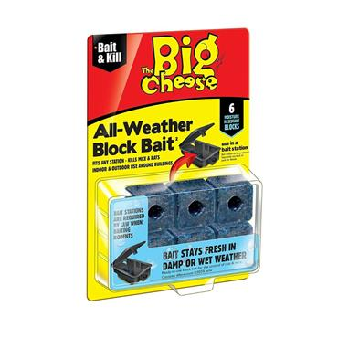 Big Cheese All-Weather Block Bait 6 x 10g | STV211