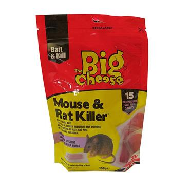 Big Cheese Mouse & Rat Killer Pasta Sachets 15 Pack | STV223