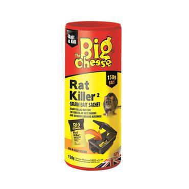 Big Cheese Rat Killer Grain Bait Sachet 150g | STV224